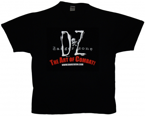 Black Danger Zone T-Shirt