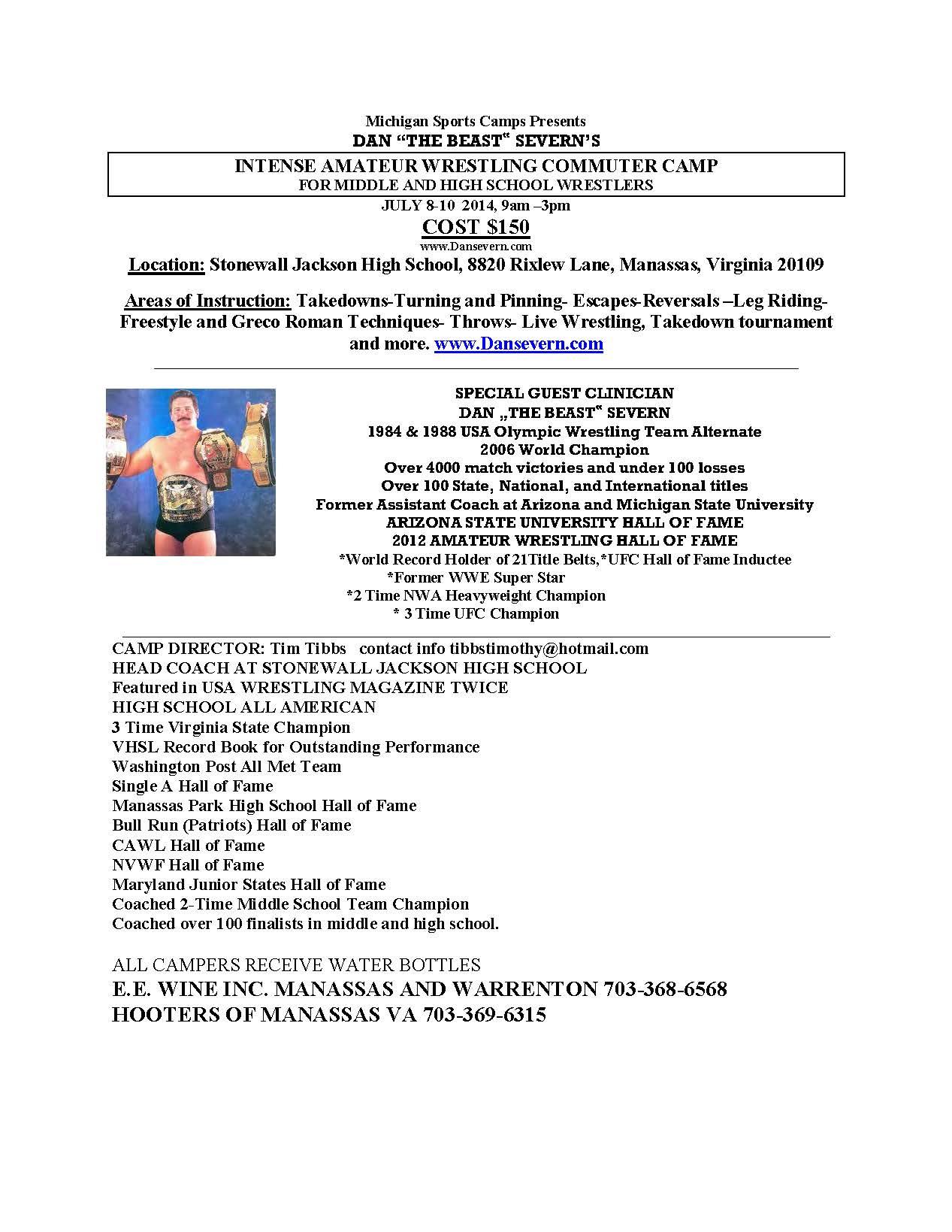 2014 Wrestling Camp